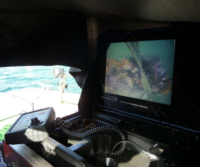 Suche und Bergung eines Kleinflugzeugs am Bodensee