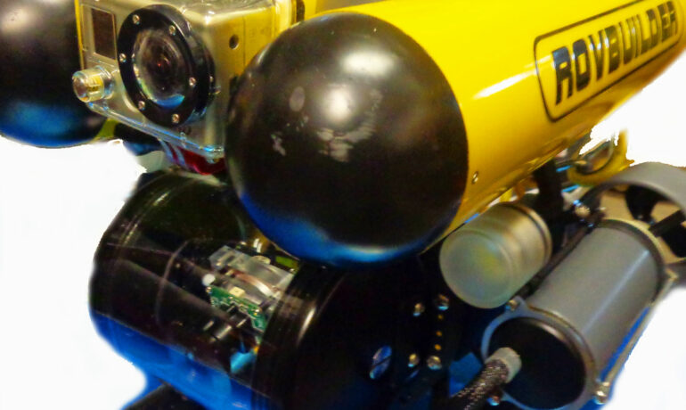 RB 50 ROV with GoPro housing