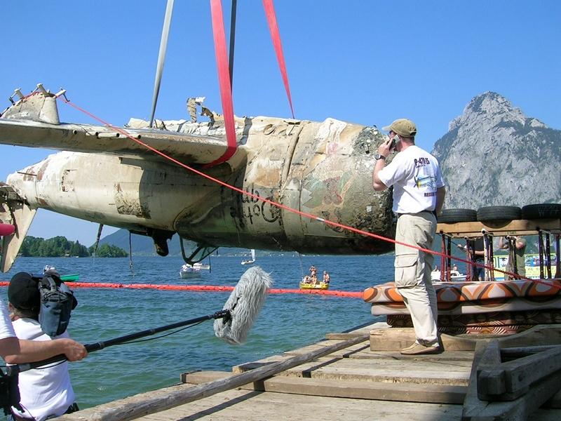 Suche und Bergung eines WKII Jagdbombers