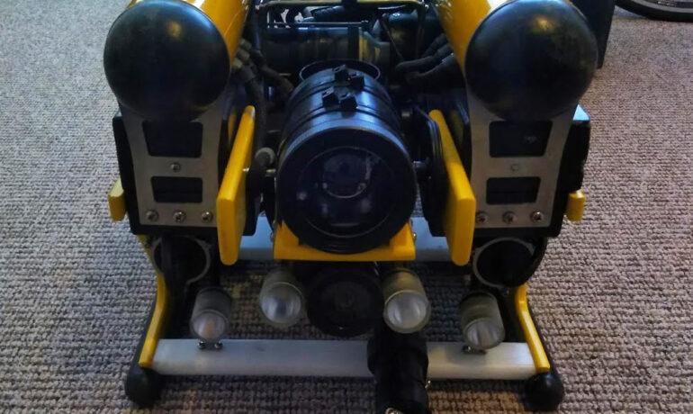 RB 600 mit RAY sonar